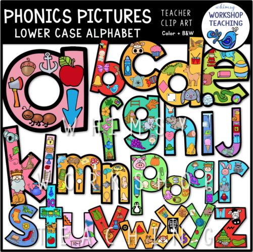 Phonics Pictures Alphabet WWT