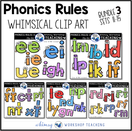 Phonics Rules Bundle 3