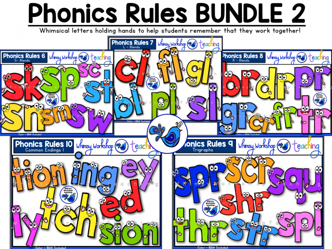 Phonics Rules bundle 2