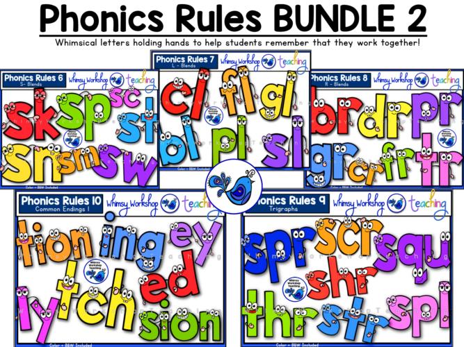 Phonics Rules bundle 2