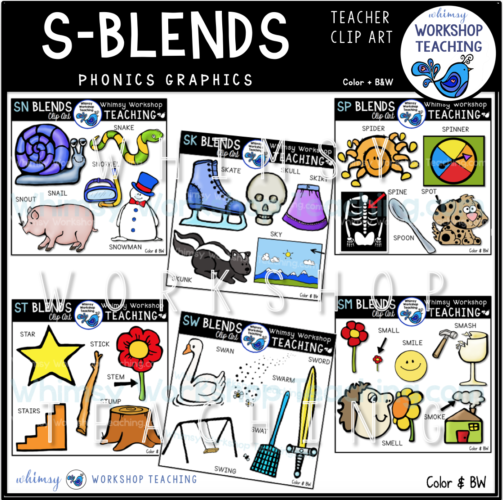 Phonics S Blends WWT