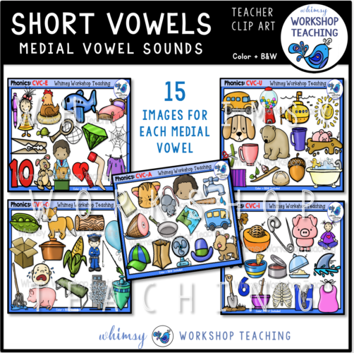 Phonics Short Vowels