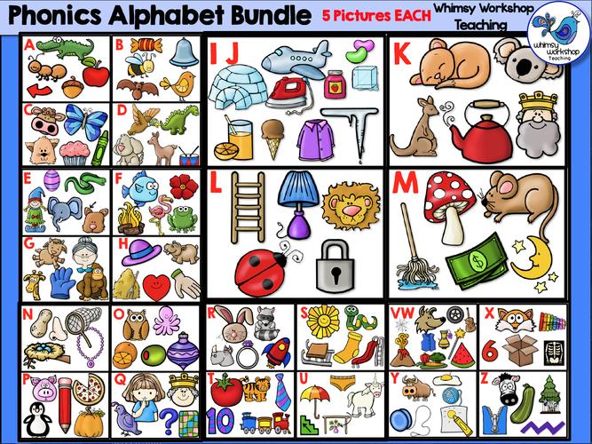 Phonics Alphabet Bundle