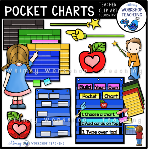 Pocket Chart Clip Art WWT