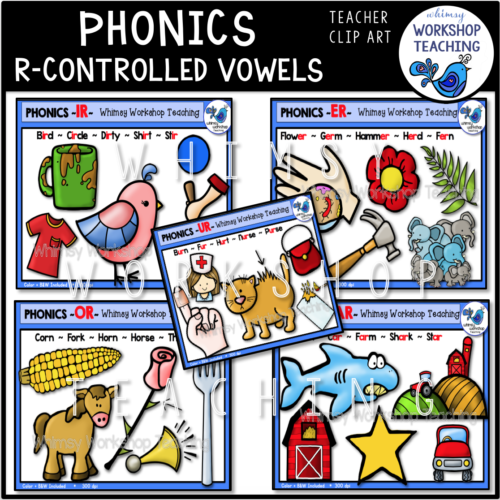 R Controlled Vowels WWT