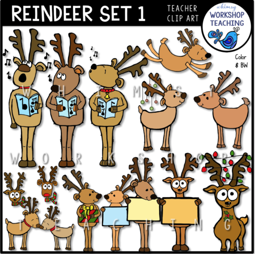 Reindeer Set 1 WWT