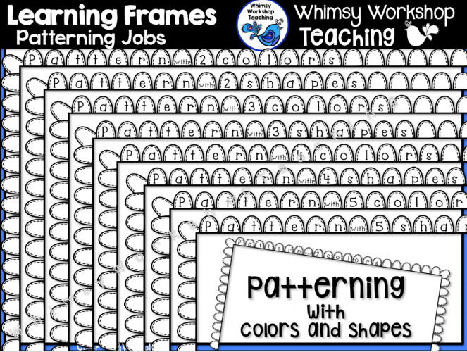 Learning Frames Patterns