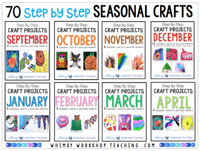 Your Crafts For Each Month Of The Year Are DONE With This Huge Set 70