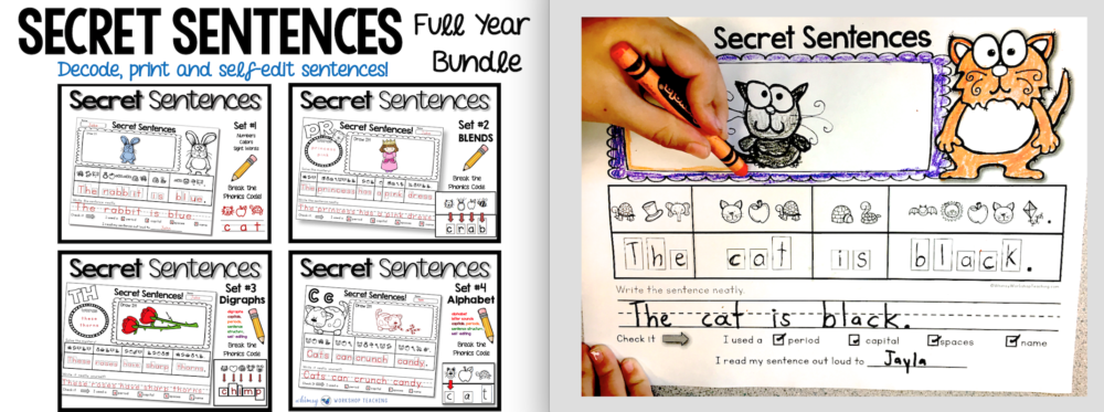 Secret Sentences Full Year Bundle