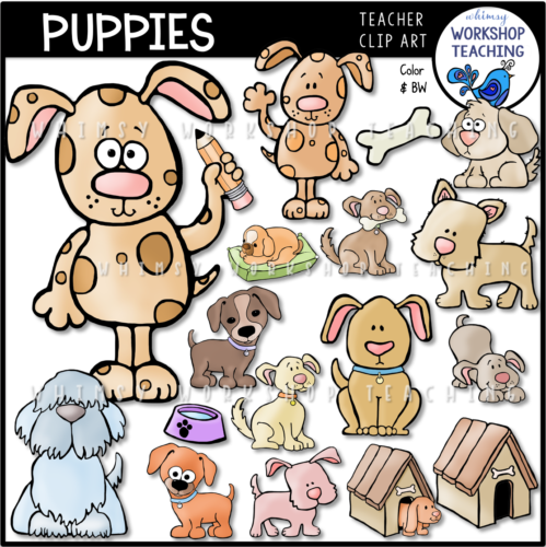 Puppies Clip Art