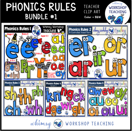 Phonics Rules Bundle 1