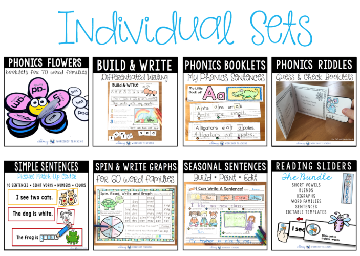 Phonics Bundle 2 Individual sets