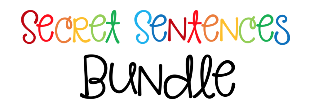 Secret Sentences Bundle Header
