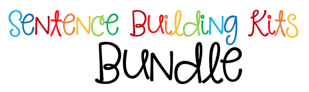sentence building kits header