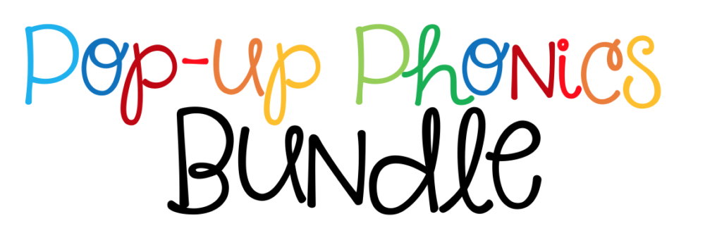Pop up phonics header