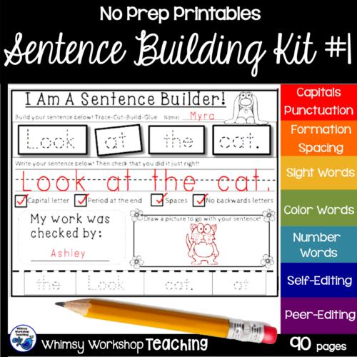 Sentence Kit 1 Cover