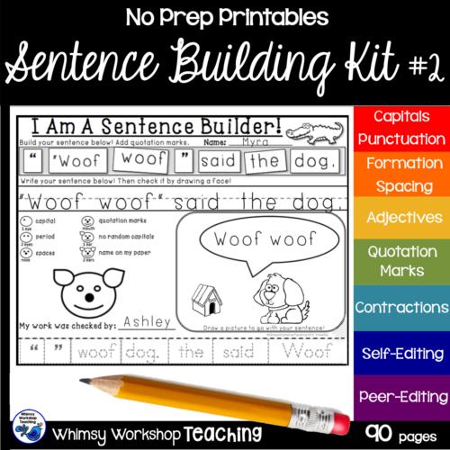 Sentence Kit 2 Cover