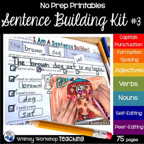 Sentence Kit 3 cover