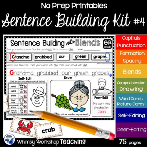 Sentence Kit 4 cover