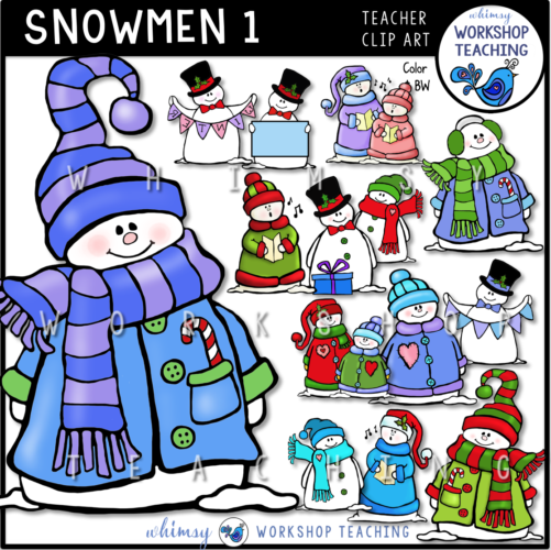 Snowmen Set 1 WWT