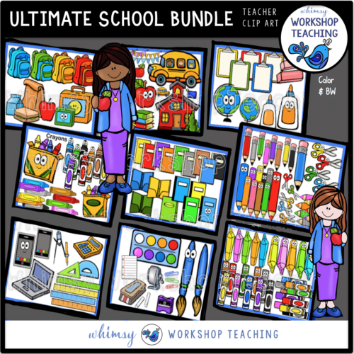 Ultimate School Bundle Whimsy Workshop Teaching
