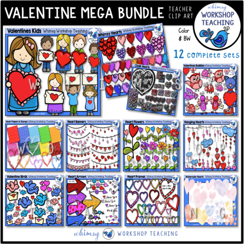 Valentine Mega Bundle 12 Sets WWT