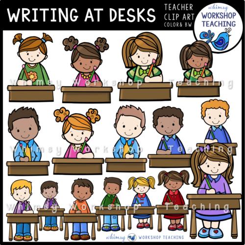 Writing At Desks WWT