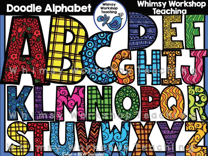 Alphabet - Doodle