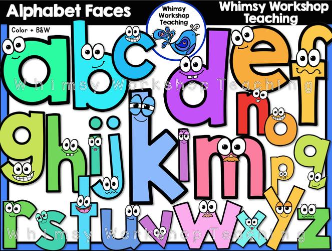 Alphabet Faces