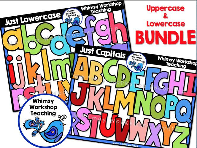 Uppercase - Lowercase Bundle