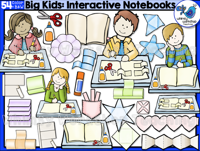 Big Kids Interactive Notebooks