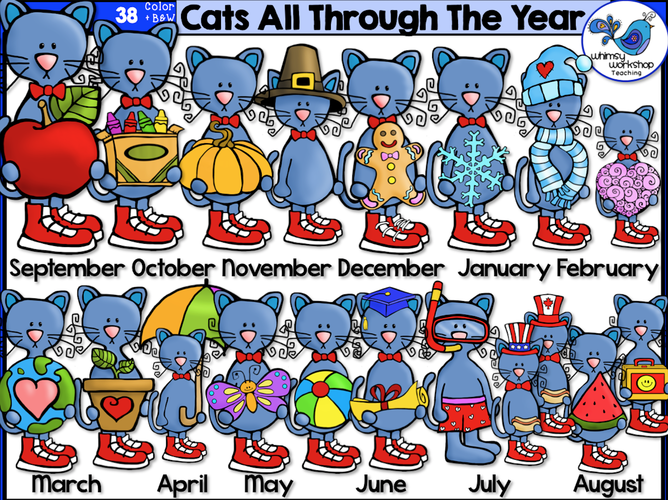 Cats All Through the Year