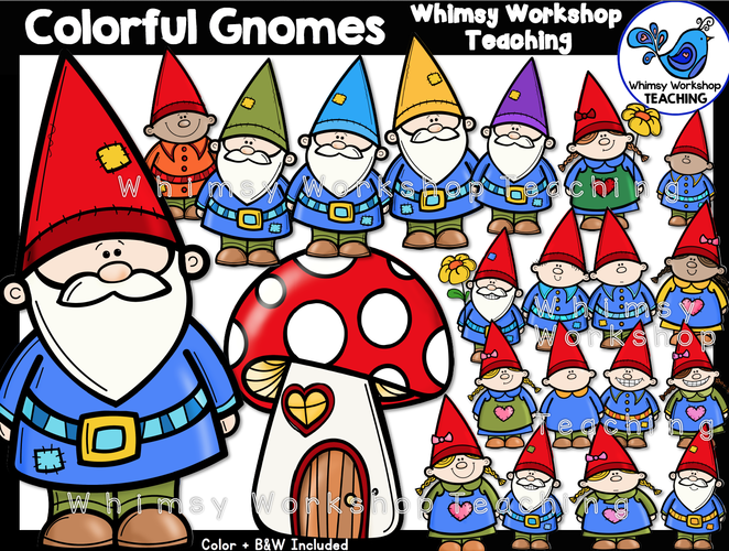 Colorful Gnomes