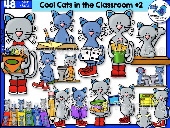 Cats in the Classroom #2