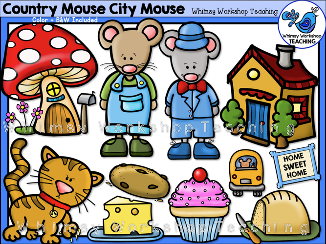 Country Mouse - City Mouse