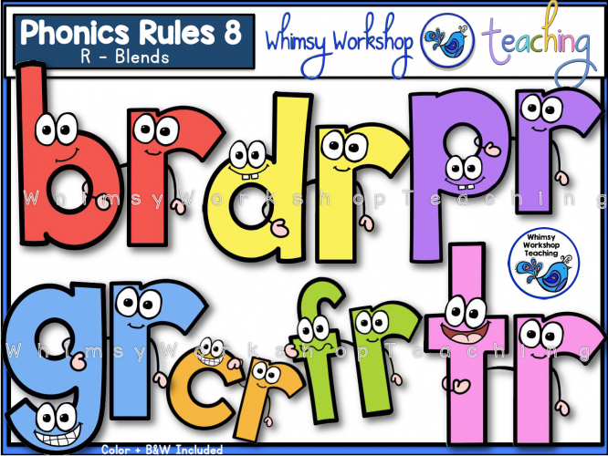 Phonics Rules 8 - R blends