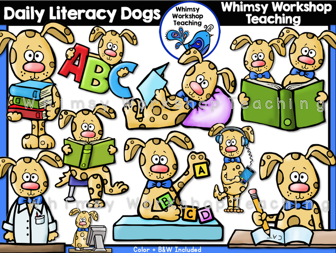 Daily Literacy Dogs