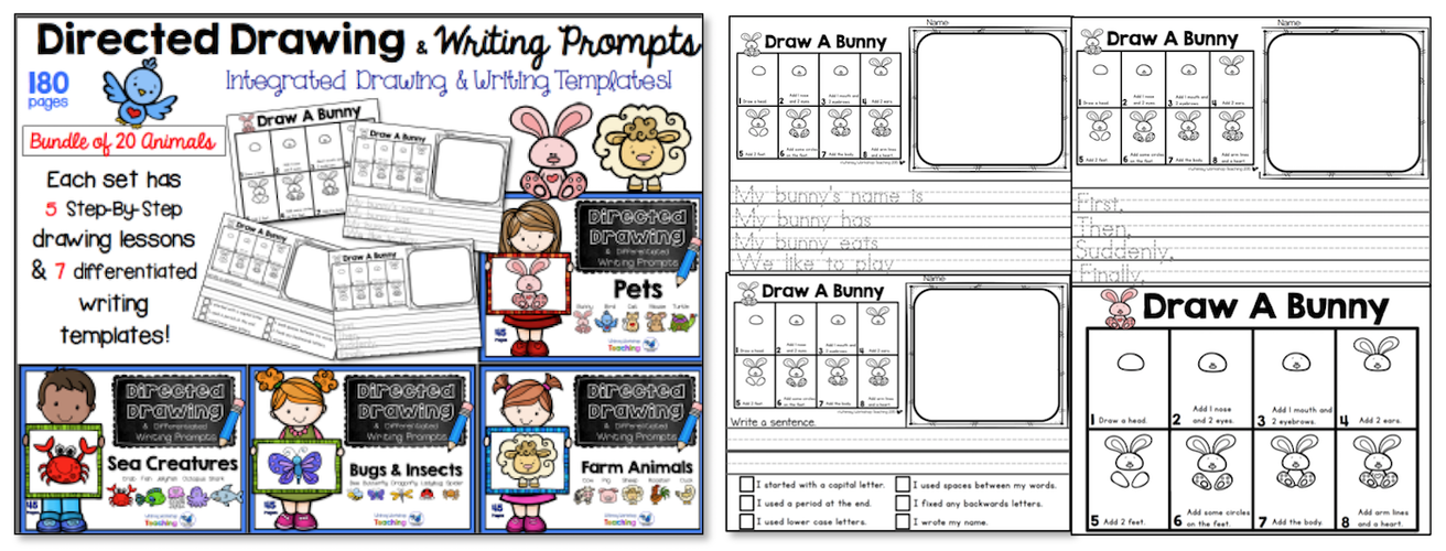 Directed Drawing Writing Prompts