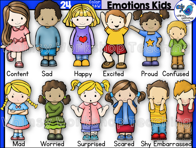 Little Kids Emotions Kids