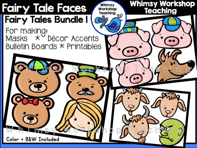 Fairy Tale Faces