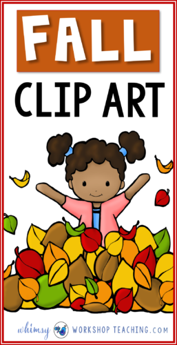 A big collection of FALL clip art for teachers. Click to see the whole collection on one page!