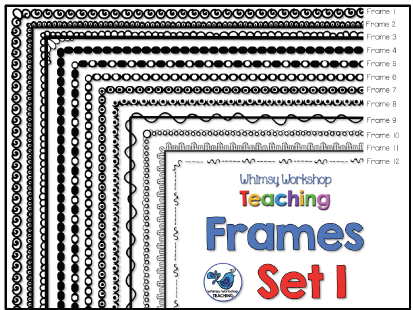 Whimsy Workshop Frames - Set 1