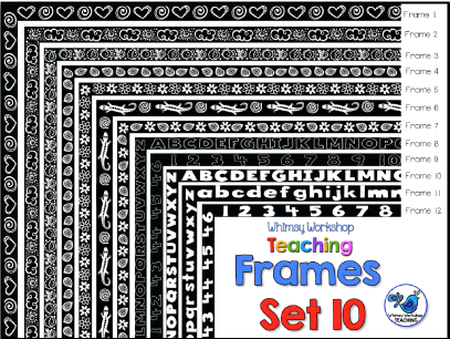 Whimsy Workshop Frames - Set 10