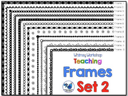 Whimsy Workshop Frames - Set 2