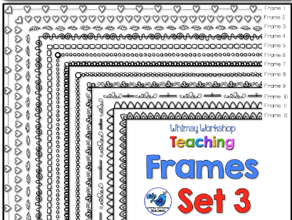 Whimsy Workshop Frames - Set 3