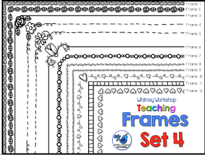 Whimsy Workshop Frames - Set 4
