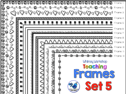 Whimsy Workshop Frames - Set 5