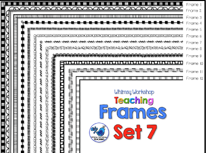 Whimsy Workshop Frames - Set 7