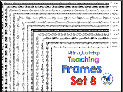Whimsy Workshop Frames - Set 8