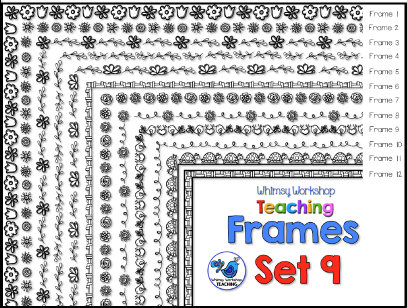 Whimsy Workshop Frames - Set 9